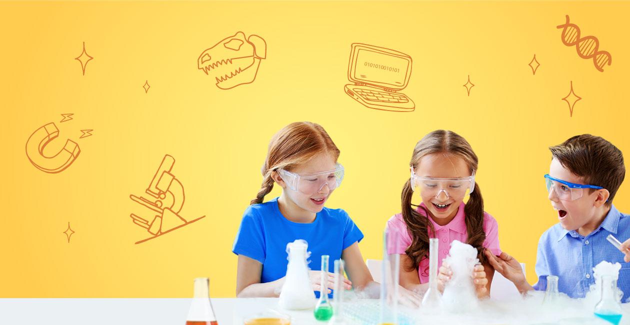 STEM兒童天才科學家